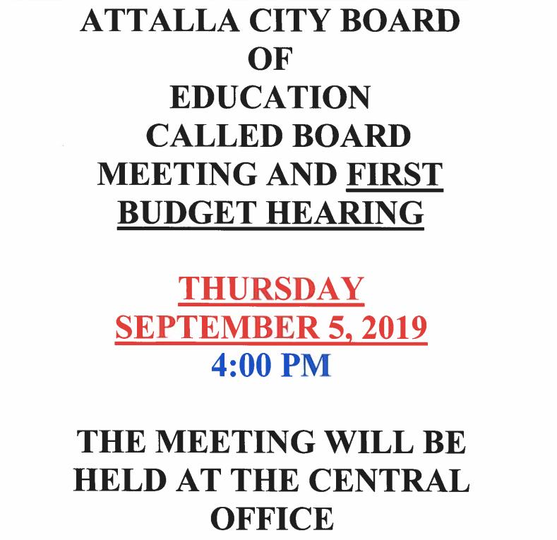 Attalla City Schools / Homepage
