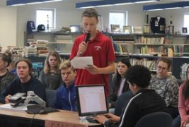 Etowah students explore DNA, databases, and the Fourth Amendment